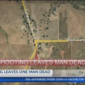 Shooting leaves man dead in Twin Oaks