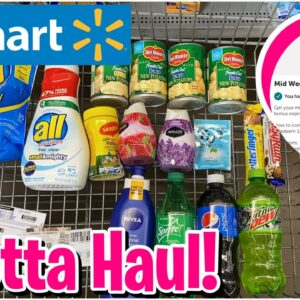 Walmart Ibotta Haul   $5 For 12 Rebates   $.36 ALL Detergent & More!   Meek's Coupon Life