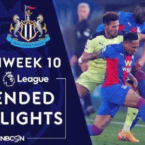 Crystal Palace v. Newcastle   PREMIER LEAGUE HIGHLIGHTS   11/27/2020   NBC Sports