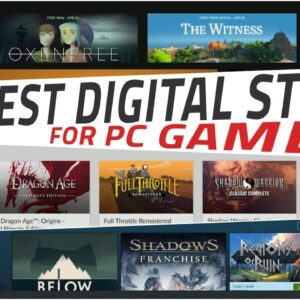 The Best Digital Games Store for PC Gamers