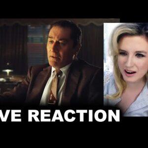 The Irishman Trailer REACTION