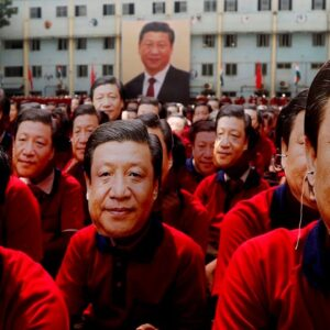 The whole world is looking at China now 'unfavourably'