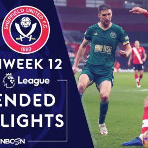 Southampton v. Sheffield United   PREMIER LEAGUE HIGHLIGHTS   12/13/2020   NBC Sports