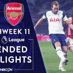 Tottenham v. Arsenal   PREMIER LEAGUE HIGHLIGHTS   12/6/2020   NBC Sports