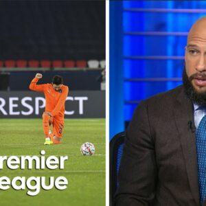 Basaksehir, PSG make strong statement of solidarity against racism | Premier League | NBC Sports