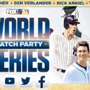 World Series Watch Party: Nick Swisher, Tino Martinez, Rick Ankiel, Ben Verlander   GAME 5   FOX MLB