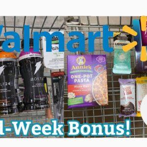 Walmart Ibotta Haul   Mid Week Harvest Bonus!   12 Easy Rebates   MCL