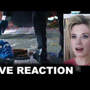 Watchmen Comic Con Trailer REACTION