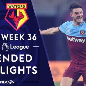 West Ham v. Watford   PREMIER LEAGUE HIGHLIGHTS   7/17/20   NBC Sports