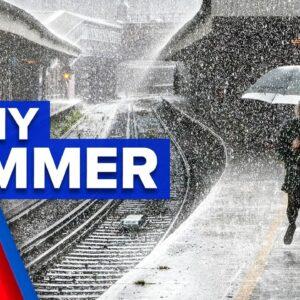 Wet weather expected until April | 9 News Australia