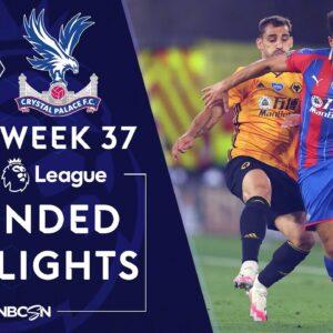 Wolves v. Crystal Palace | PREMIER LEAGUE HIGHLIGHTS | 7/20/2020 | NBC Sports