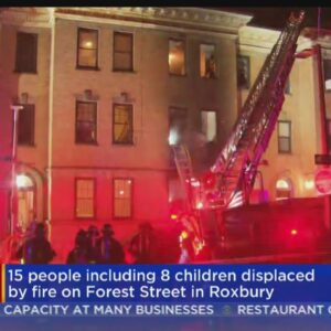 Icy Conditions, Window Bars Hinder Firefighters At Roxbury Apartment Fire