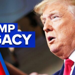 A look back at the Trump presidency | 9 News Australia