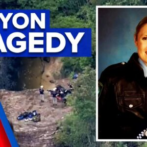 Bodies of two women recovered in canyon accident   9 News Australia