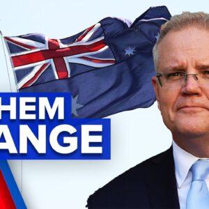 Changes to Australian National Anthem   9 News Australia