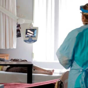 Coronavirus cases triple across aged care in Britain