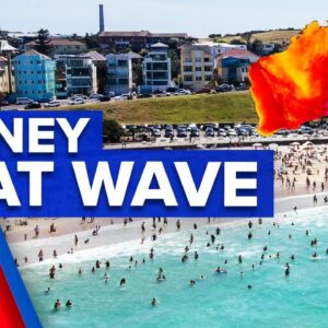 First NSW heat wave of the year | 9 News Australia
