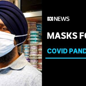 Designers create modified face masks for people with beards, turbans and headscarves | ABC News