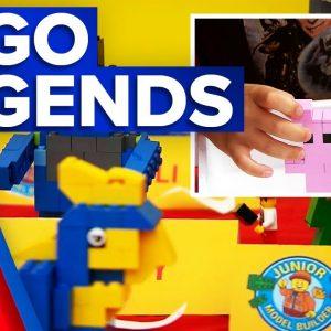 Lego builders battle for junior title | 9 News Australia