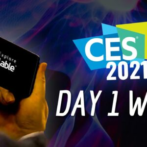 CES 2021 Day 1 Highlights: LG's Insane Rollable Phone, Samsung's Massive 110-Inch MicroLED TV