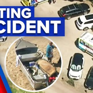 Man drowns in tragic boating accident | 9 News Australia