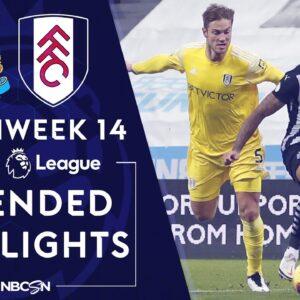 Newcastle v. Fulham | PREMIER LEAGUE HIGHLIGHTS | 12/19/2020 | NBC Sports