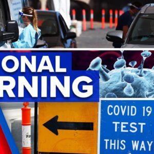 Coronavirus: Regional NSW on alert after camper tests positive | 9 News Australia