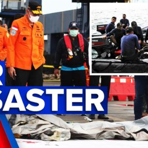 Search underway for missing Indonesian passenger jet | 9 News Australia
