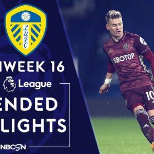 West Brom v. Leeds United | PREMIER LEAGUE HIGHLIGHTS | 12/29/2020 | NBC Sports