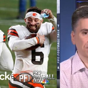 Cleveland Browns take it to Steelers in huge Wild Card win | Pro Football Talk | NBC Sports