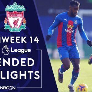 Crystal Palace v. Liverpool | PREMIER LEAGUE HIGHLIGHTS | 12/19/2020 | NBC Sports