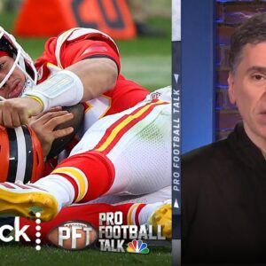 Patrick Mahomes can't try to rush back from NFL concussion protocol | Pro Football Talk | NBC Sports