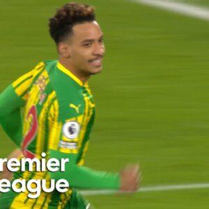 Matheus Pereira nets fine West Brom equalizer against West Ham | Premier League | NBC Sports
