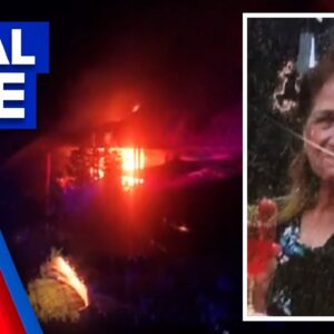 Woman dies in house fire | 9 News Australia