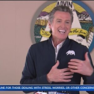 Gov. Gavin Newsom visits Kern County, says Golden Empire to receive roughly 15K COVID-19 vaccine dos