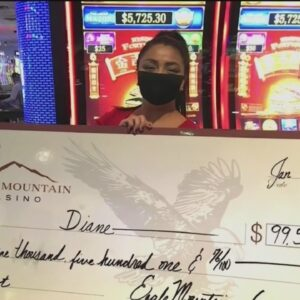 Eagle Mountain Casino awards $3M in January jackpots; Bakersfield resident takes home nearly $11K