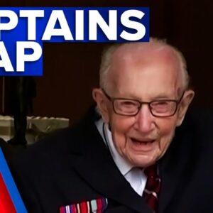 Captain Tom honoured across the nation | 9 News Australia