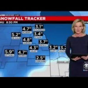 Chicago Weather: Snow Returns On Thursday