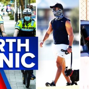 Coronavirus: Long lines at testing sites in Perth | 9 News Australia