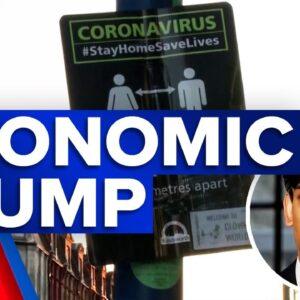 Coronavirus: UK economy suffers biggest slump   9 News Australia