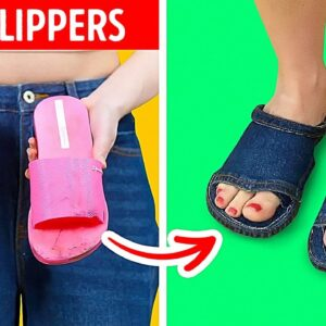 22 Simple Ways to Upgrade Your Old Shoes || Shoe Decoration Ideas Anyone Can Make!