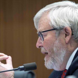 Kevin Rudd's News Corp 'conspiracies' a 'narcissistic sideshow': Peta Credlin