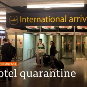 Covid-19: Hotel bookings for quarantine being made 'at pace' 🔴 @BBC News live - BBC