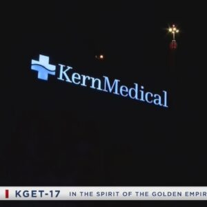 Law enforcement called to disperse large crowd outside Kern Medical