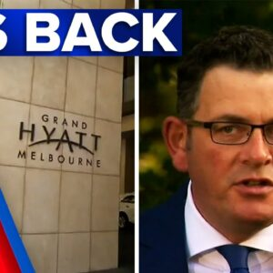 Australian Open on the line after Melbourne hotel worker COVID-19 case | 9 News Australia