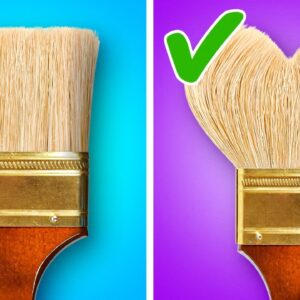 Inspirational Painting Techniques Anyone Can Repeat || Wall Painting Tricks by 5-Minute DECOR!