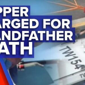 Rottnest skipper charged over grandfather death I 9News Perth