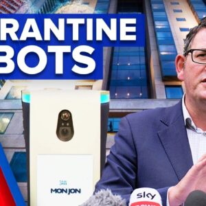 Coronavirus: Robots set to be trialled inside hotel quarantine   9 News Australia