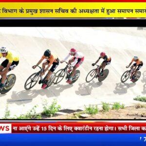 परिवहन मंत्री ने साइक्लिंग चौम्पियनशिप के पदक विजेताओं को किया सम्मानित