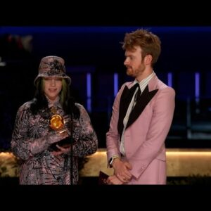 Billie Eilish Wins Record Of The Year At 2021 GRAMMY Awards